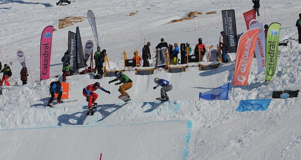 Resultado de imagen para campeonato mundial de Snowboard Cross en bariloche