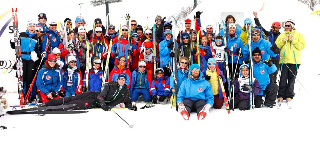 esquí nórdico competencia cerro catedral